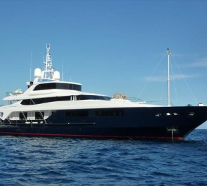 Motor yacht Burkut available for Bahamas and Caribbean charter