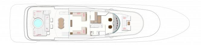 N35 Yacht Upper Deck GA