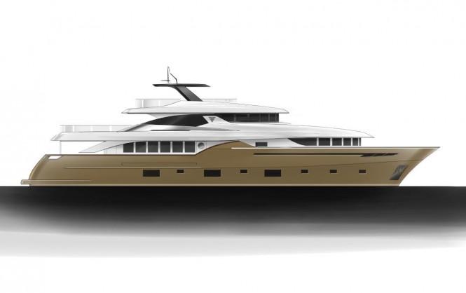 Navetta 35 Yacht by Filippetti - Beige