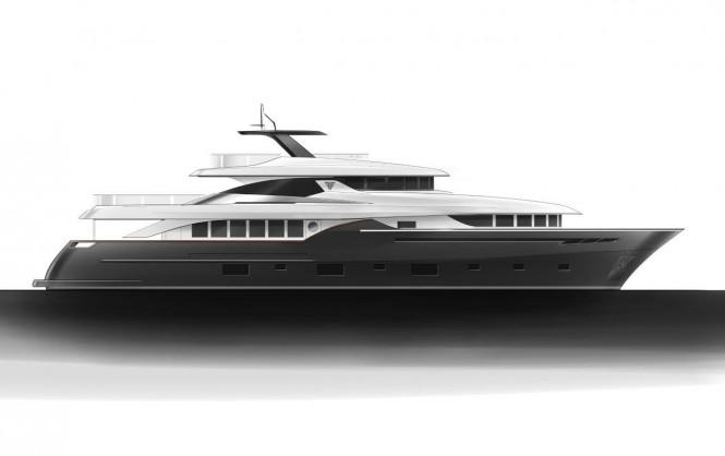 Navetta 35 Yacht by Filippetti  - gray