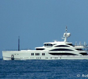 Beautiful 63m Motor Yacht 11/11 (FB265) by BENETTI spotted in Italy