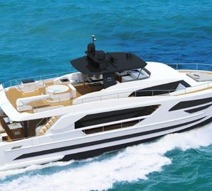 New FD85 Fast Displacement Yacht unveiled by Horizon Yachts
