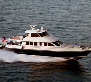 New Hunt Ocean Series 80 Yacht with ground-breaking Hunt Deep-V hull
