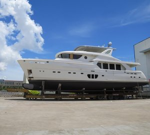 All-new Selene 92 yacht nearing launch at Jet Tern Marine in China