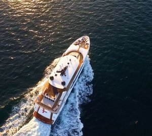 Newly refitted 36m Motor Yacht SAHANA launches to global superyacht charter market