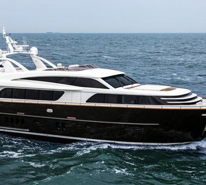 Delivery of Van der Valk Superyacht JANGADA – Second yacht in new Continental Three range