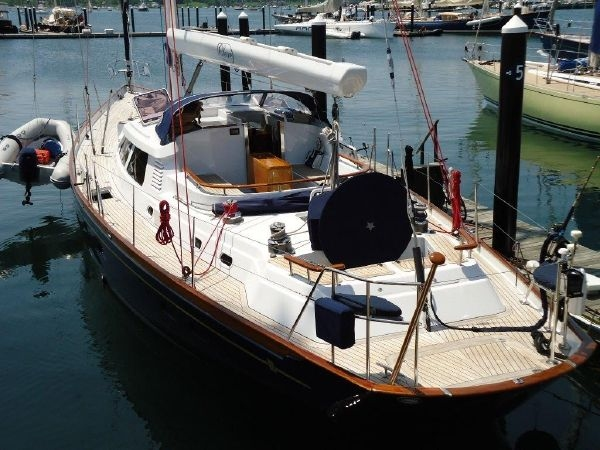 Volare yacht designed by Ron Holland
