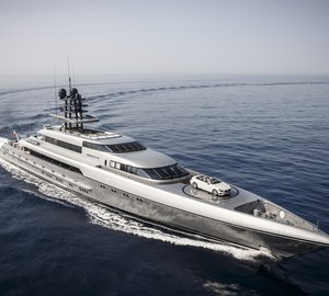 Breath-taking 77m Superyacht SILVER FAST to be displayed by SilverYachts at MYS