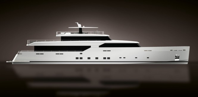 New superyacht LOGICA 154 by LOGICA Yachts