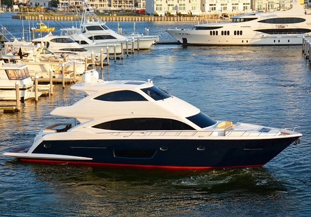 Second Viking 75 Yacht at Viking's dealer meeting in Atlantic City - Image credit to Viking Yacht Company