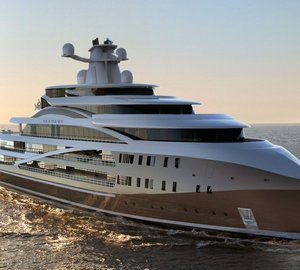 New 103m Explorer Mega Yacht SEA HAWK project to be presented by Hawk Yachts at MYS 2015