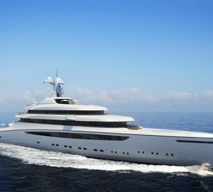 Nobiskrug announces partnership with Claydon Reeves and launch of striking 110m mega yacht RADIANCE project