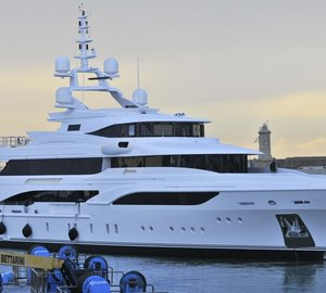 Luxury Superyachts fitted with MTU engines on display at Monaco Yacht Show 2015