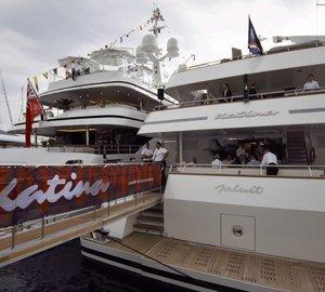 World Premiere for Impressive 60m Brodosplit Charter Yacht KATINA at Monaco Yacht Show