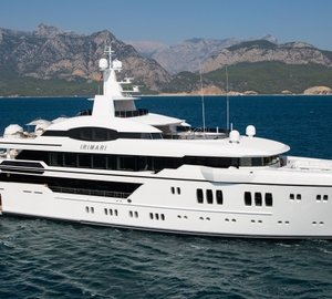 Recently delivered 63m Sunrise Super Yacht IRIMARI to make world premiere at MYS 2015