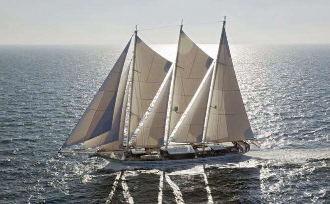 64,5m sailing superyacht MIKHAIL S. VORONTSOV built by Balk Shipyard