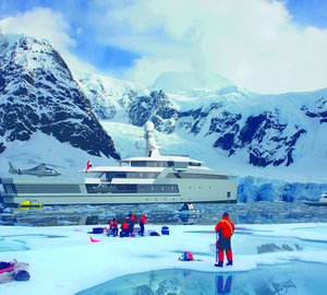 Debut of new DAMEN SeaXplorer range of 65 to 100m expedition yachts at MYS 2015