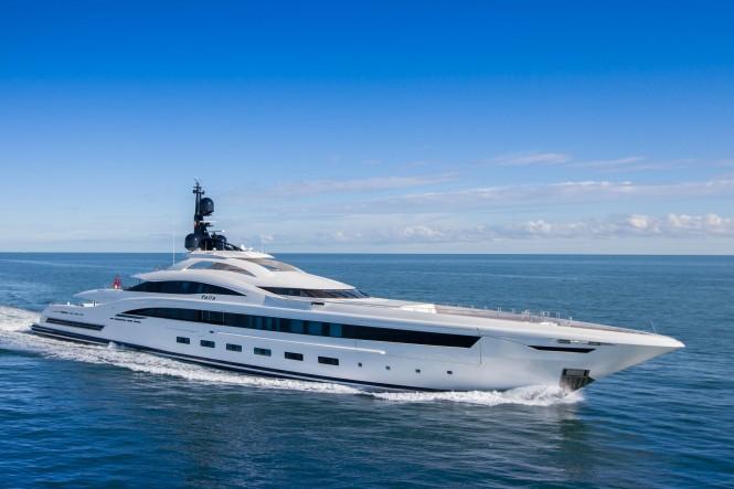 73m Mega Yacht YALLA by CRN