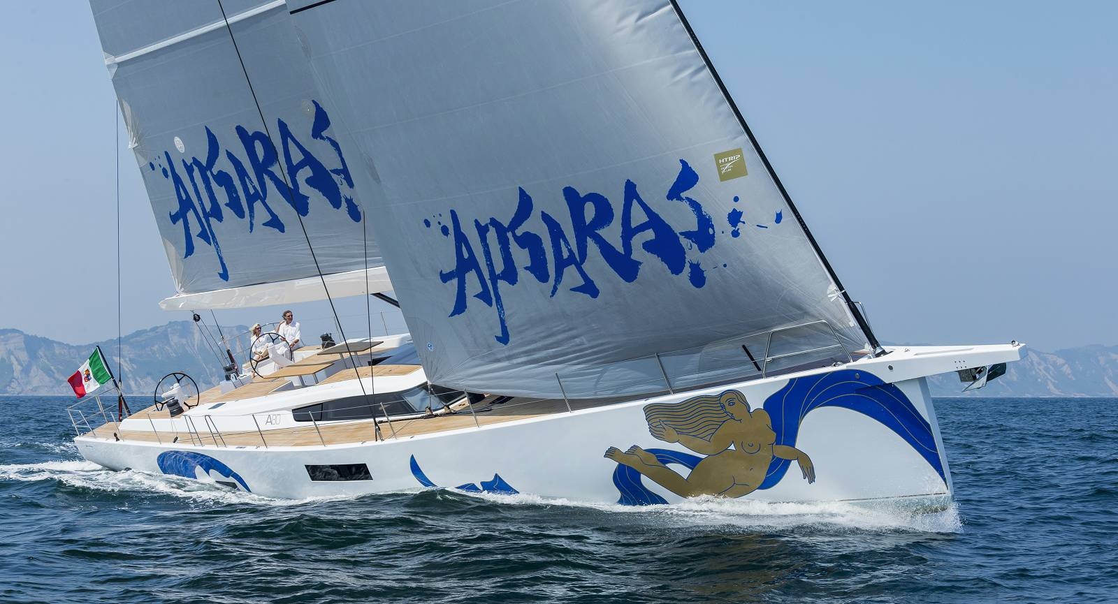 Advanced 80 sailing yacht APSARAS