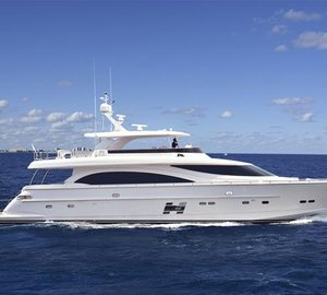 Global debut for First Horizon E88 Open Bridge Yacht at FLIBS 2015