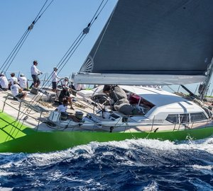 Division Victories for Sailing Yachts INOUI, WINDFALL, SUPERNIKKA, H20, OPEN SEASON and BELLA MENTE at the Maxi Yacht Rolex Cup 2015