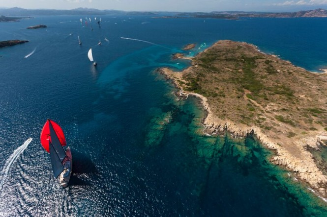 Luxury private yachts and charter yachts participating in the Perini Navi Cup