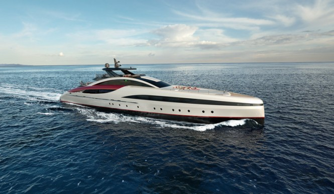 M60 luxury yacht SeaFalcon project by Mondomarine and Luiz de Basto