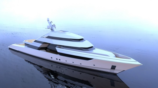 Motor yacht FOCUS concept