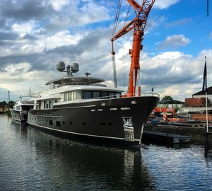 A great success of AntiRoll Stabilisation System by DMS Holland on Luxury Yacht SANTA MARIA T