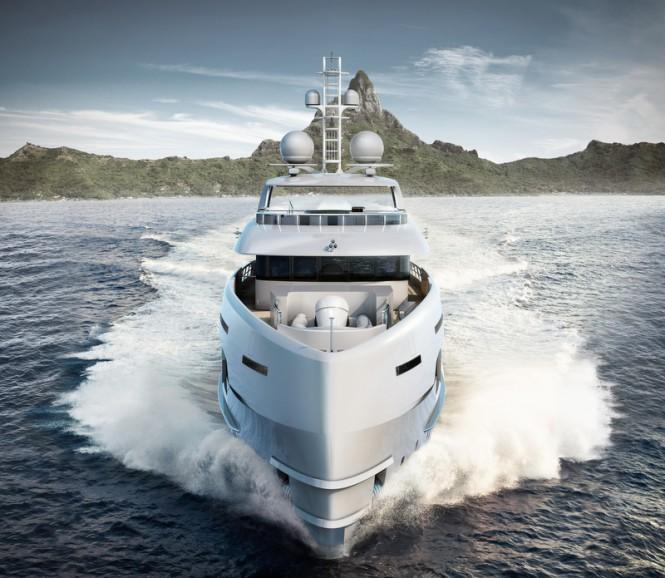 NOVA Yacht - front view