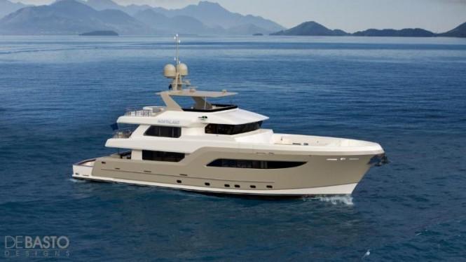 New 31,55m Burger Boat Yacht designed by Luiz de Basto