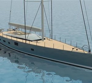 New 35m super stern superyacht design unveiled by Dubois Naval Architects