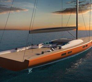 Design Unlimited and Reichel Pugh's 100m mega sailing yacht