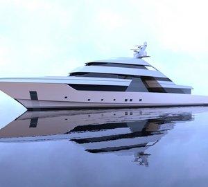 Latest 75m mega yacht FOCUS concept by Nick Mezas Yacht Design