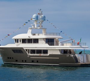 Cantiere delle Marche delivers New Darwin Class Motor Yacht ACALA set for worldwide preview at FLIBS