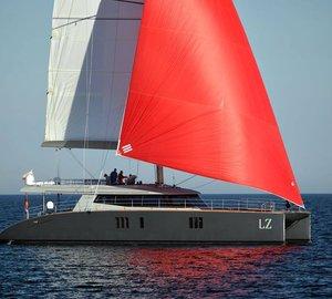 Launch of NEW Sunreef 74 Sailing Catamaran LUCY Z (LZ)