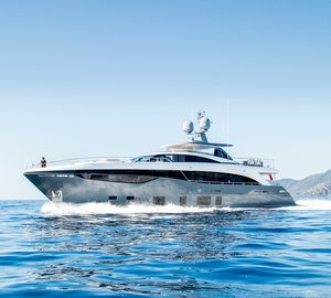 Debut for Powerful and Graceful Princess 35M Superyacht ANTHEYA III at Monaco Yacht Show 2015