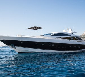 James Bond 007 Superyacht ZULU by SUNSEEKER available to view during