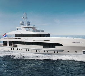 New Heesen Fast Displacement Motor Yacht NOVA to feature entertainment system by VBH