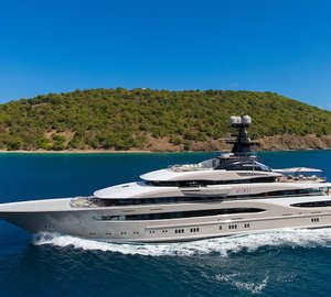 95.2m Mega Yacht KISMET by Lurssen to be showcased at the 2015 Fort Lauderdale International Boat Show