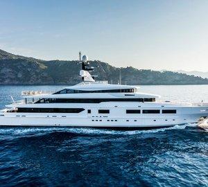 Eye-catching and eco-friendly Tankoa S693 Super Yacht SUERTE