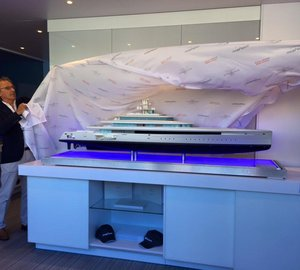 Oceanco Unveils New Vitruvius Acquaintance 105m Yacht at MYS 2015