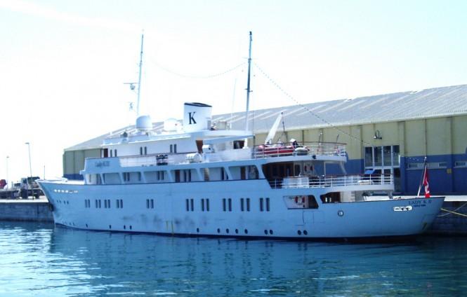 Luxury motor yacht Lady K II