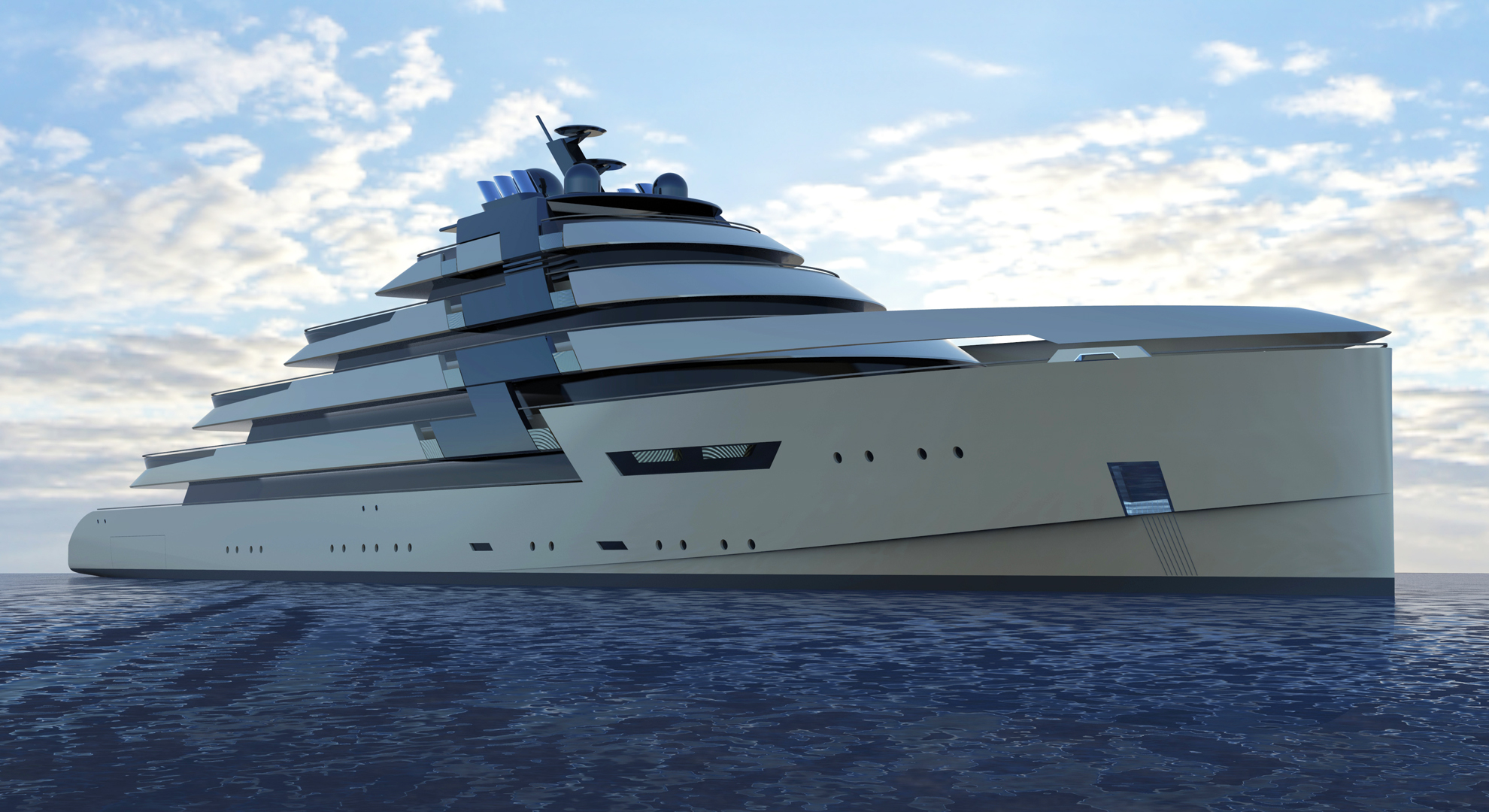 100m Motor Yacht Ds1 Concept Yacht Charter Amp Superyacht News