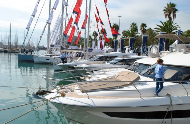 54th Barcelona Boat Show - Photo by Peter Franklin