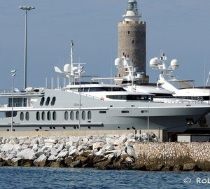 Striking 55m Charter Yacht OBSESSION by Oceanfast in Italy