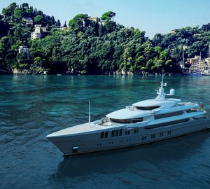 Impressive 70m unique shallow draft motor yacht ZENITH concept by Sunrise Yachts nominated for IY&A Award 2016