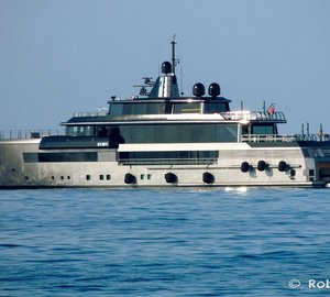 Eye-catching 55m Superyacht ATLANTE by CRN in Livorno, Italy