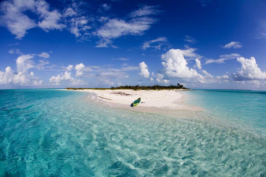 Kayak in Eleuthera - Image credit to the Bahamas Ministry of Tourism