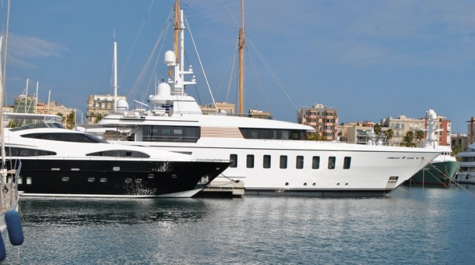 Feadship F45 Superyacht GLADIATOR - Photo by Peter Franklin